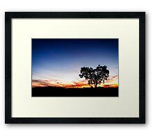 ~ the heart tree ~ Framed Print