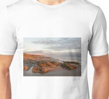 Beach at Ogmore on sea Unisex T-Shirt