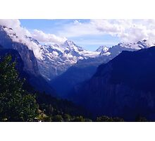 Lauterbrunnen Valley  Photographic Print