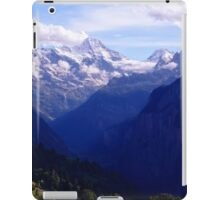 Lauterbrunnen Valley  iPad Case/Skin