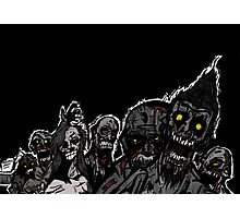 Zombies are coming! Photographic Print