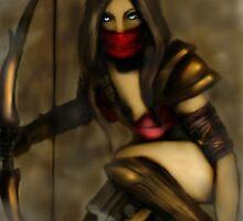 The Huntress, Xena by Tabitha Longbrake