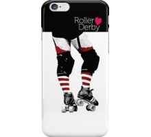 Love Roller Derby iPhone Case/Skin