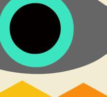 Crazy Surreal Modern eye Sticker