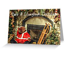 Have A Storybook Christmas Greeting Card