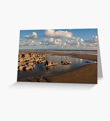 Coast Ogmore on sea Greeting Card