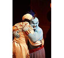 Aladdin and Genie Love Photographic Print