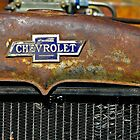 Chevrolet Badge Wall Art by HoskingInd