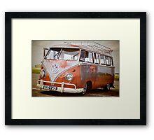 VW Camper Framed Print