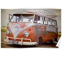 VW Camper Poster