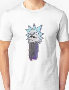 RICK GLITCH THROW UP T-Shirt
