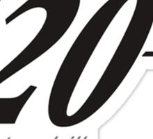 Agent 420 Sticker