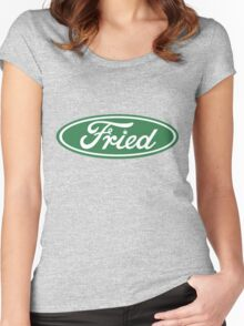 Fried Women's Fitted Scoop T-Shirt