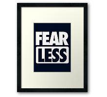 FEAR [ LESS ] - Alternate Framed Print