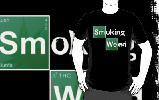 Smoking Weed by THCDesigns