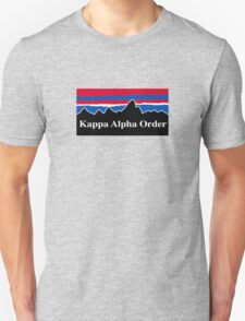 Kappa Alpha Order Red White and Blue T-Shirt