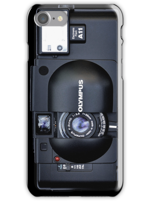 Olympus XA iPhone  case by AnthonyDavey