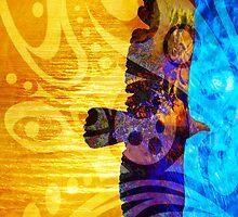 Between Worlds Tribal by Robert Ball
