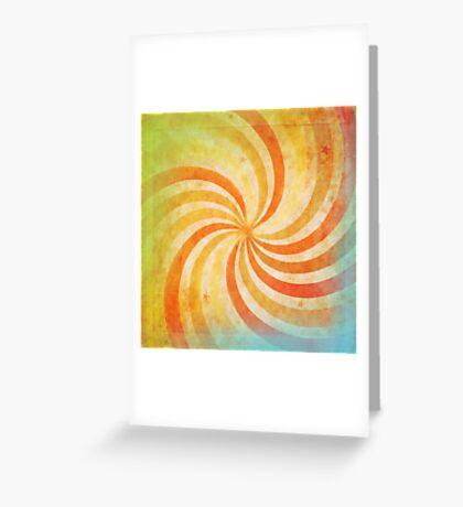 grunge ray Greeting Card