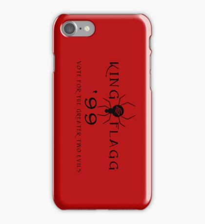 Dinh for Midworld - Crimson King & Randall Flagg 1999 iPhone Case/Skin