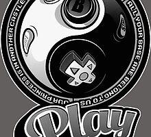 Playing-yang by javiclodo