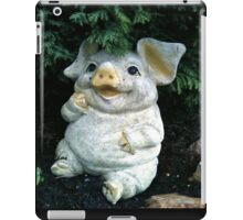 LITTLE MISS iPIGGY - SOLD (Not sold out) iPad Case/Skin