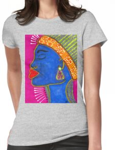 Color Me VIBRANT Womens Fitted T-Shirt