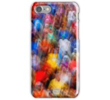 Motion Blur Runners Race iPhone Case/Skin