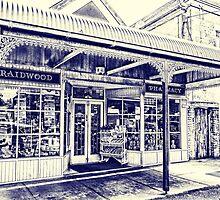 Chemist shop in Braidwood 1 by Fran Woods