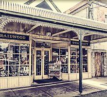 Chemist shop in Braidwood 2 by Fran Woods