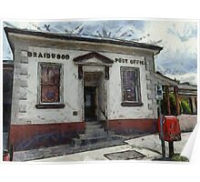 Braidwood Post Office Poster