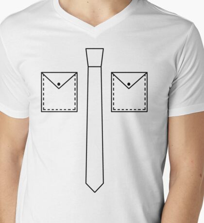 Office Geek shirt Mens V-Neck T-Shirt
