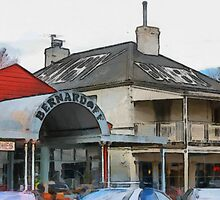 Braidwood shops 2 by Fran Woods
