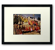 Puppets of Folklore Framed Print