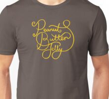 Peanut Butter Jelly Unisex T-Shirt