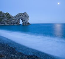 Jurassic coast blues by Ian Middleton