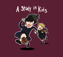 A study in kids Womens Fitted T-Shirt
