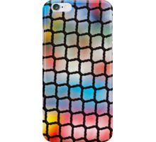 Net Colors Spectators Stadium Abstract iPhone Case/Skin