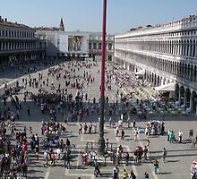 La Piazza From Above by Adamdabs