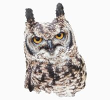 African Spotted Eagle Owl Kids Clothes
