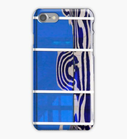 Office Building Abstract Reflection iPhone Case/Skin