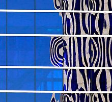 Office Building Abstract Reflection by Jamie Roach