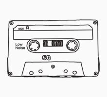 Retro Cassette Tape Kids Clothes