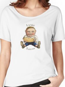 I LIKE PUDDING Women's Relaxed Fit T-Shirt