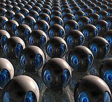 Alien Invasion At Dawn by perkinsdesigns