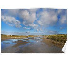North Sea Beach 3 Poster