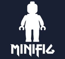 Minifig Man with Slogan by Customize My Minifig by ChilleeW