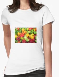 Peppers Womens Fitted T-Shirt