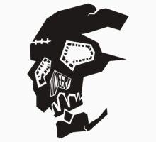 vicTEEry - Broken Skull Tee! by victeery