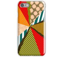 Retro Colorful Rays iPhone 5 Case / iPhone 4 Case / Samsung Galaxy Cases  iPhone Case/Skin